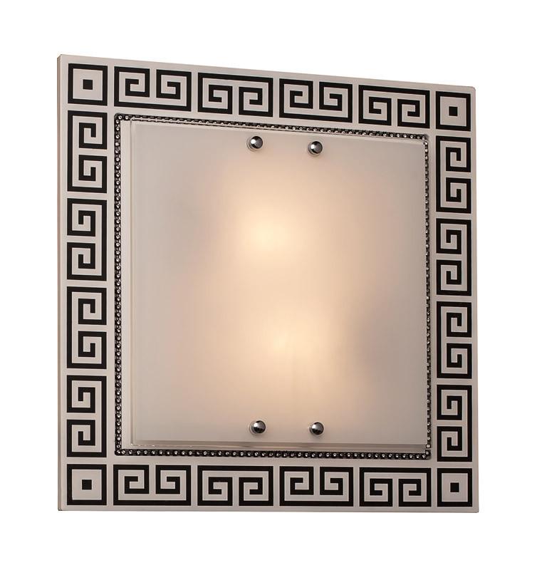 Фото Silver Light Светильник настенно-потолочный Silver Light, серия Harmony, металл+стекло, LED 20W. Купить с доставкой