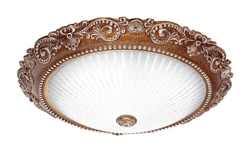 Silver Light Светильник настенно-потолочный Silver Light, серия Louvre, металл+стекло+полирезин, LED 18W .