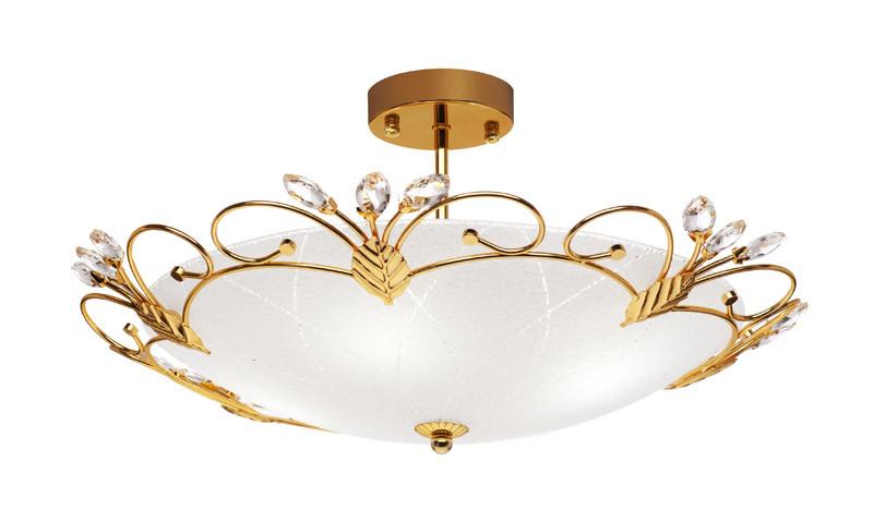 Silver Light Светильник потолочный Silver Light, серия Lotos, диаметр 49 см.,металл+стеклo, цвет золото 4XЕ27X75W подвеска для скейтборда 1шт ruckus trkrk2026 low silver red 4 75 19 1 см