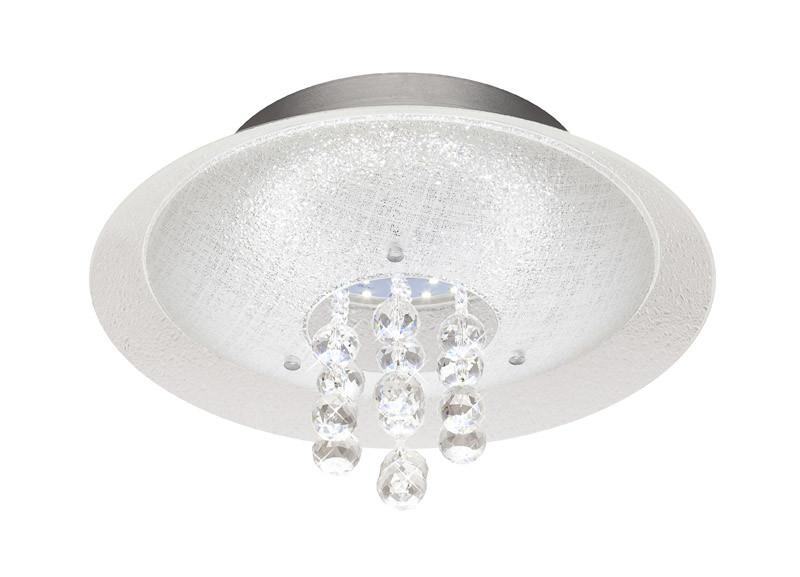 Silver Light Светильник настенно-потолочный Silver Light, серия Diamond, металл+стекло, LED 24W diamond grinding head set silver 50 pcs