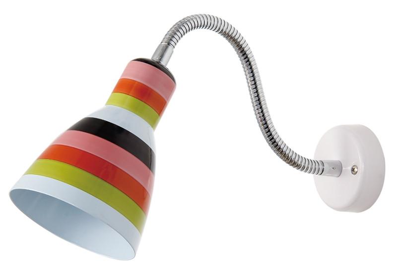 Odeon Light 2596/1W ODL17 835 цветная полоска, белый Бра с выключателем E27 40W 220V PIKA snapdragon 835 vpervye protestirovan v benchmarke