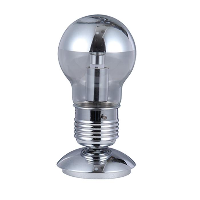 Odeon Light 3351/1T ODL17 114 никель Настольная лампа E27 60W 220V TELSU
