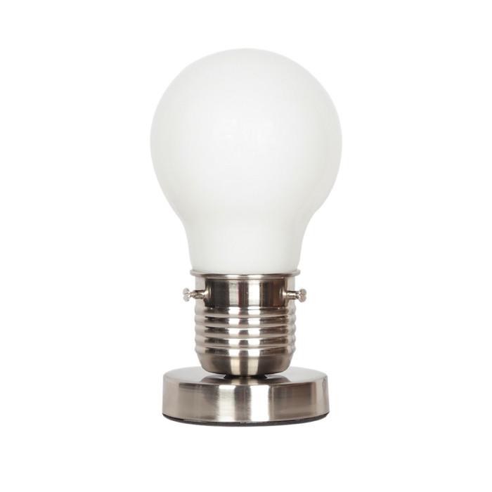 Odeon Light 3352/1T ODL17 115 хром Настольная лампа E27 60W 220V TELSU клавиша смыва geberit sigma 50 белый хром 115 788 11 5