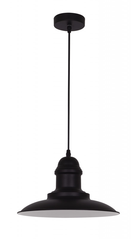 Odeon Light 3375/1 ODL17 108 черный Подвес E27 60W 220V MERT светильник подвесной odeon light mert 1 х e27 60w 3375 1