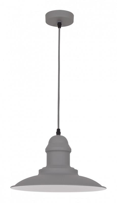 Odeon Light 3377/1 ODL17 109 серый Подвес E27 60W 220V MERT светильник подвесной odeon light mert 1 х e27 60w 3375 1