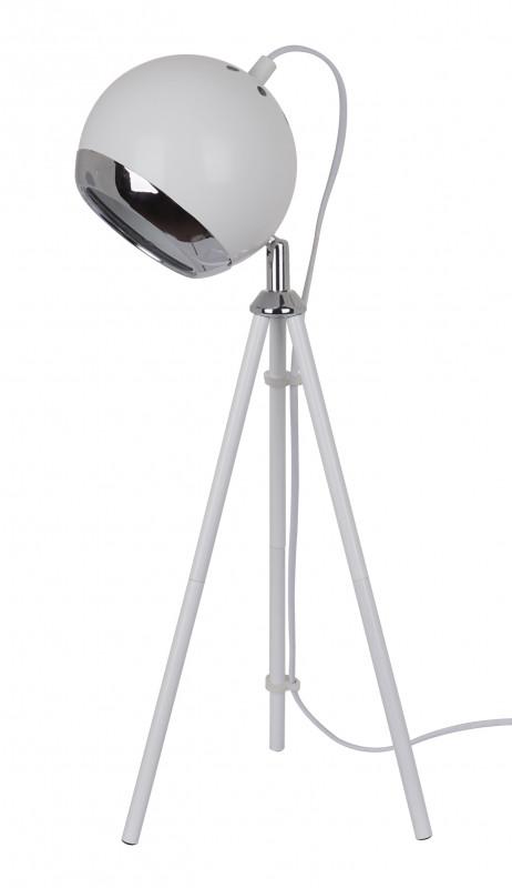 Odeon Light 3384/1T ODL17 125 белый/хром Настольная лампа E27 40W 220V ESEO бактерицидная лампа дрт 125 1 магазины