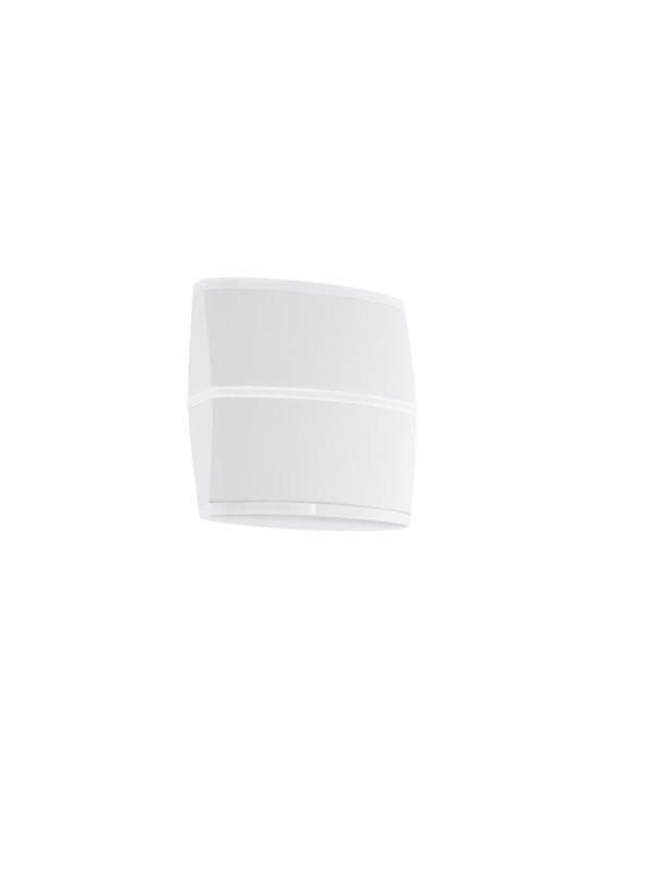 EGLO Уличный светодиодный светильник настенный PERAFITA, 2х6W(LED), H170, L175, литой алюминий, белый/пла