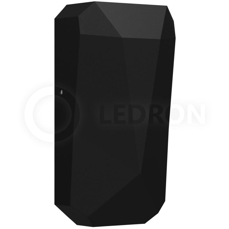 LeDron WWF1206-Black IP65 ledron fast top sq mini black