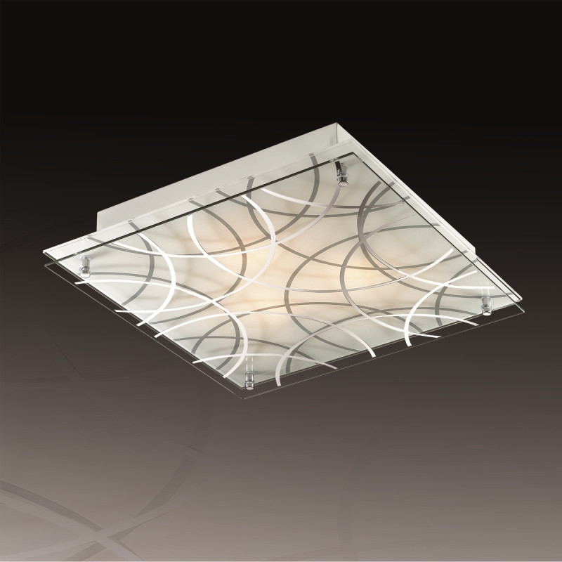 Sonex 3204 SN17 042 белый/серый Н/п светильник E27 3*60W 220V OMAKA