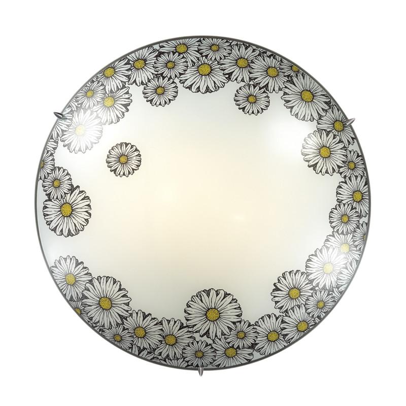 Sonex 2215 SN17 039 белый/черный/желтый Н/п светильник E27 2*60W 220V MILLE
