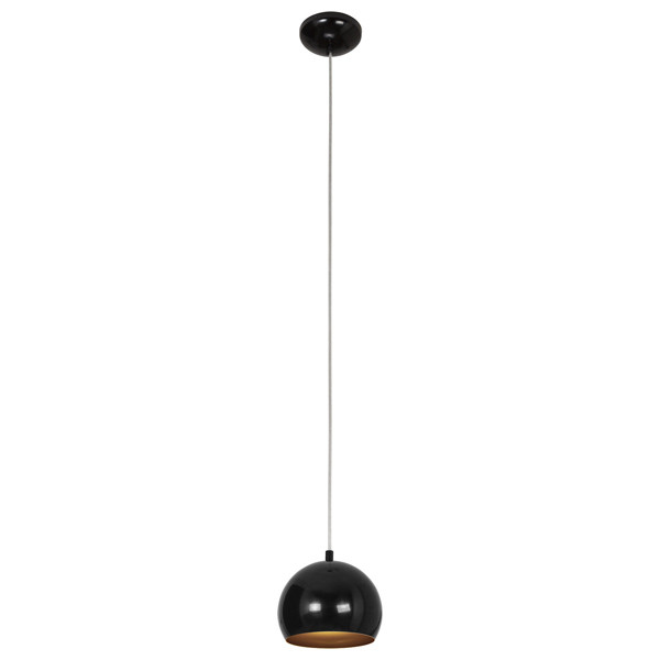 Nowodvorski BALL BLACK-GOLD I zwis nowodvorski ball white gold iii zwis