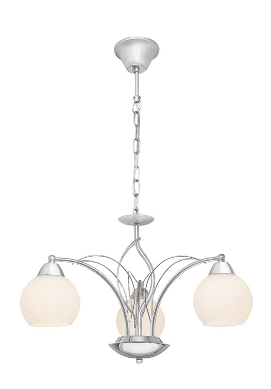 Silver Light Люстра подвесная Silver Light, cерия Adele, цвет хром 3XЕ14X60W