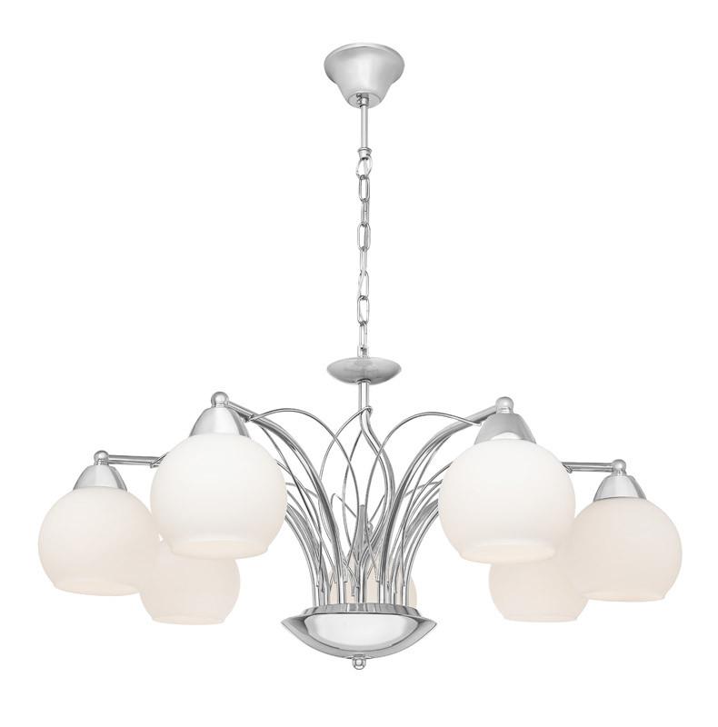 Silver Light Люстра подвесная Silver Light, cерия Adele, цвет хром 7XЕ14X60W