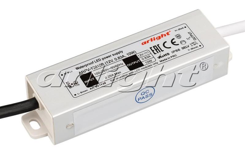 Arlight Блок питания ARPV-12010B (12V, 0.83A, 10W)