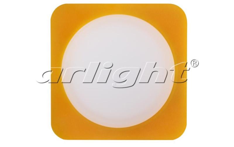 Фото Arlight Светодиодная панель LTD-95x95SOL-Y-10W Warm White. Купить с доставкой