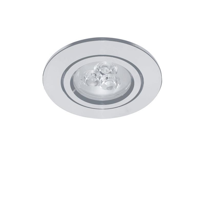 Lightstar 070032 Светильник ACUTO LED 3W 270LM ХРОМ 3000K (в комплекте), шт lightstar светильник astra tubo led 1w 90lm хром прозрачный 3000k в комплекте шт
