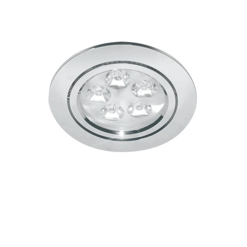 Lightstar 070052 Светильник ACUTO LED 5W 450LM ХРОМ 3000K (в комплекте), шт lightstar светильник astra tubo led 1w 90lm хром прозрачный 3000k в комплекте шт