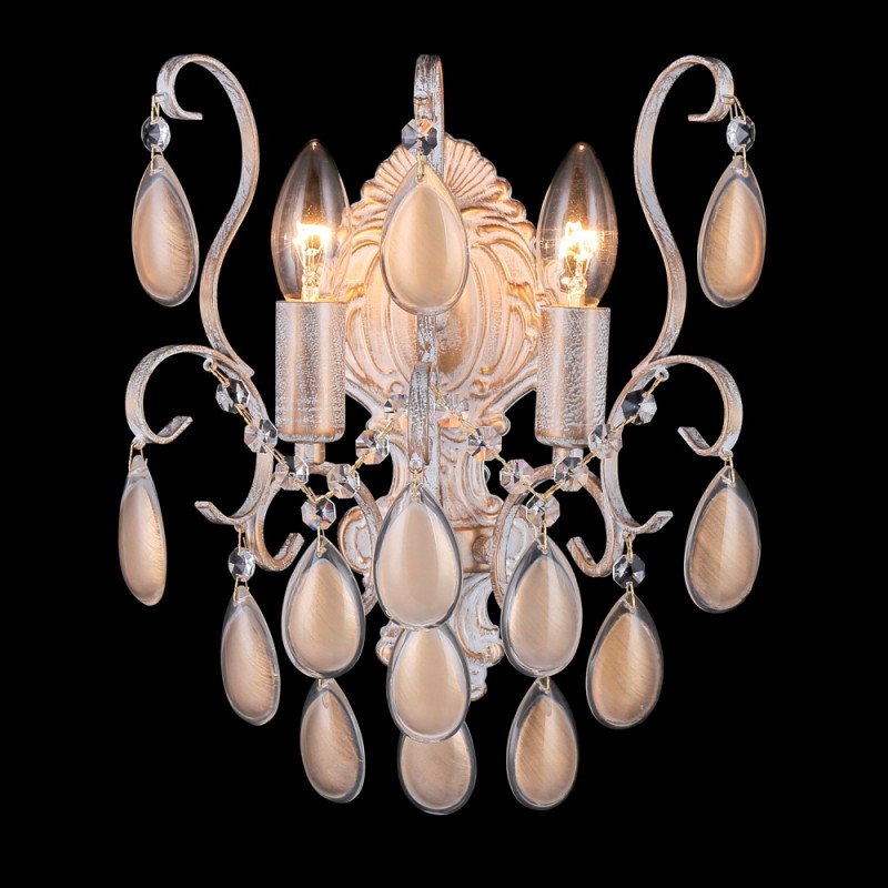 Crystal Lux SEVILIA AP2 GOLD crystal lux бра crystal lux bloom ap2 gold