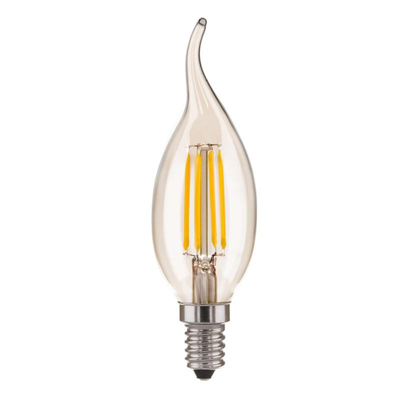 Elektrostandard Свеча на ветру CDW F 5W 3300K E14 elektrostandard лампочка elektrostandard led c37 cd 6w 3300k e14