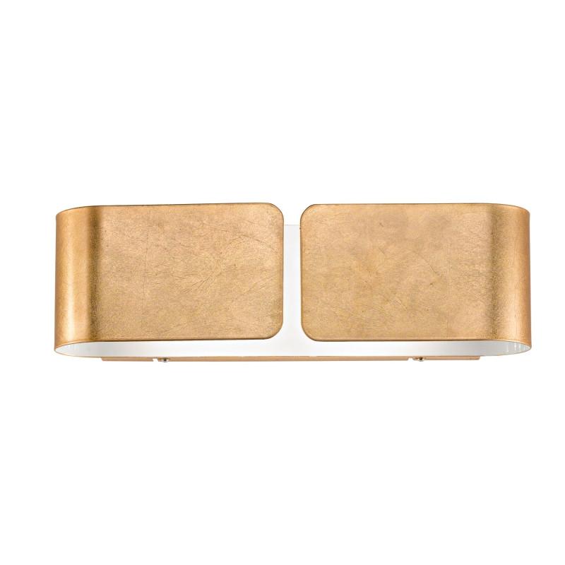 цена Ideal Lux Настенный светильник CLIP AP2 MINI ORO