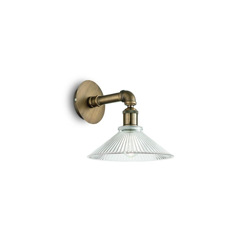 Фото Ideal Lux Настенный светильник ASTRID AP1 BRUNITO. Купить с доставкой
