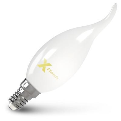 X-Flash Лампа LED X-flash XF-E14-FLM-СA35-4W-2700K-230V (арт.48847) лампочка x flash xf e14 flm ca35 4w 2700k 230v 48847