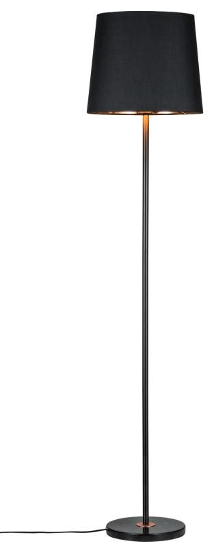 Paulmann Ando Stehl max1x20W Sw/Ku Stoff/Marmor paulmann fenno tischl max1x20w grau 230v beton