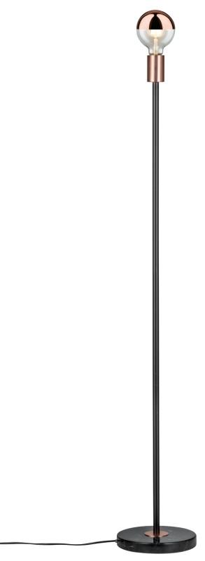 Paulmann Caja Stehl max1x20W Sw/Ku /Marmor/Metall paulmann fenno tischl max1x20w grau 230v beton