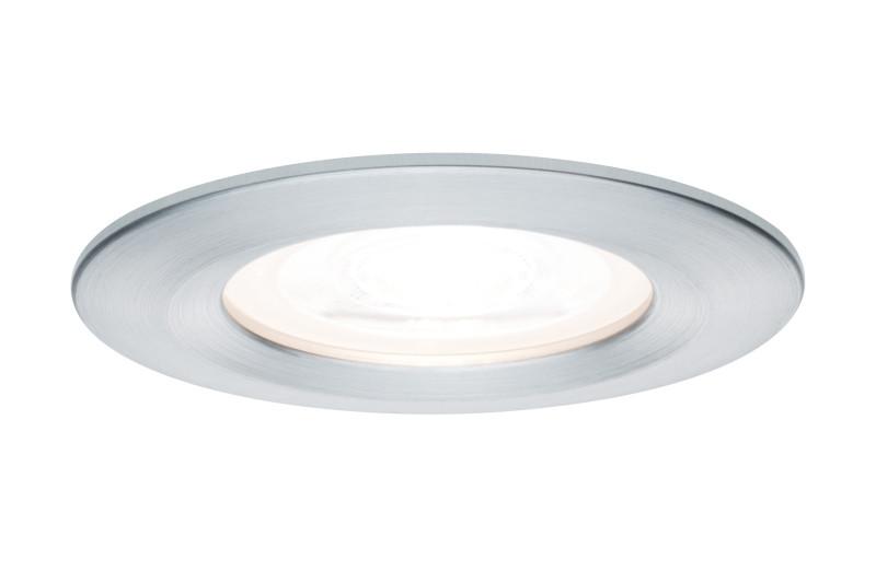 Paulmann Prem EBL Nova rd LED 1x_W Alu gedr / Alu paulmann caja pendell rd max1x20w e27 ws marmor