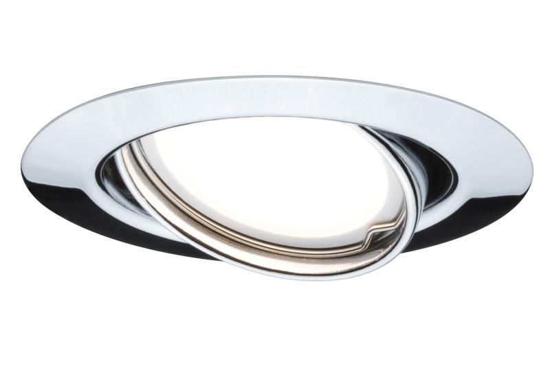 Paulmann Qual EBL LED schw 1x5W GU10 51mm Chr/Mt paulmann neta pendell max3x20w holz wei holz mt