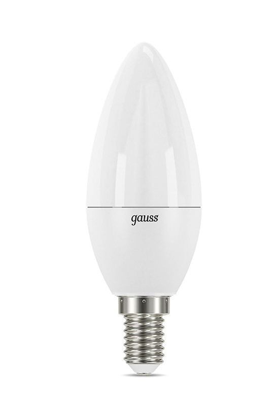 Gauss Лампа Gauss LED Candle E14 7W 2700К step dimmable 1/10/100 e14 3w 270lm 6500k white non dimmable led candle candelabrum lamp bulb silver 6 pcs
