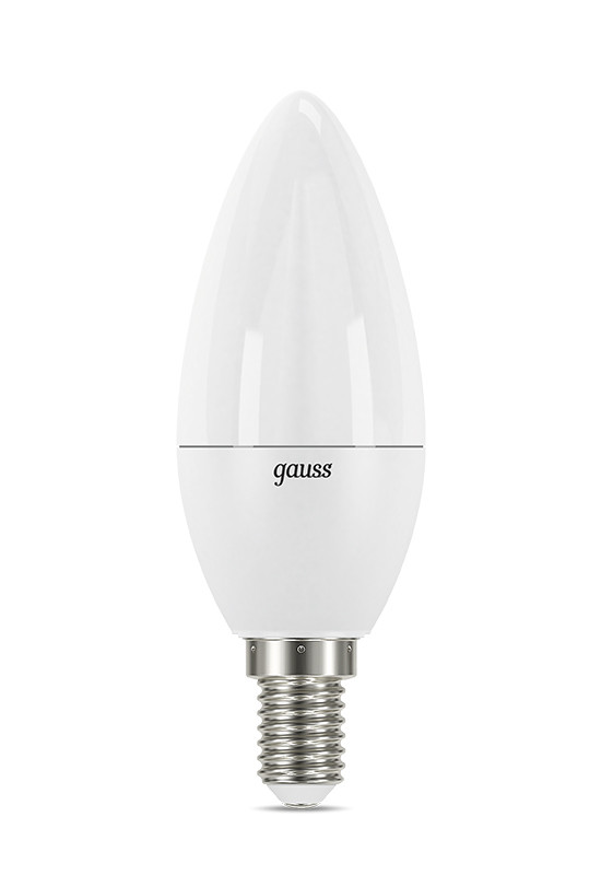 Gauss Лампа Gauss LED Candle E14 7W 4100К step dimmable 1/10/100