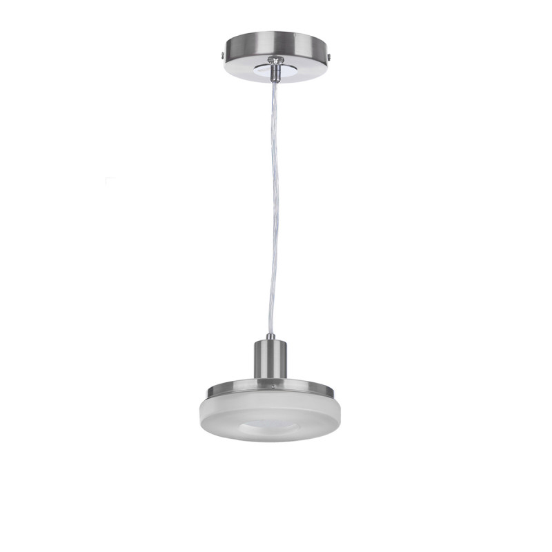 IDLamp Светильник подвесной Frittelle 107/1-LEDWhitechrome торшер idlamp frittelle 107 1p ledwhitechrome