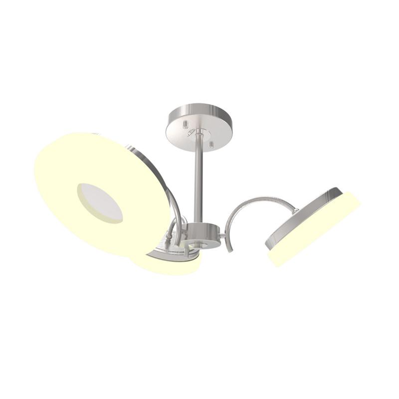 IDLamp Светильник потолочный Frittelle 107/3PF-LEDWhitechrome торшер idlamp frittelle 107 1p ledwhitechrome
