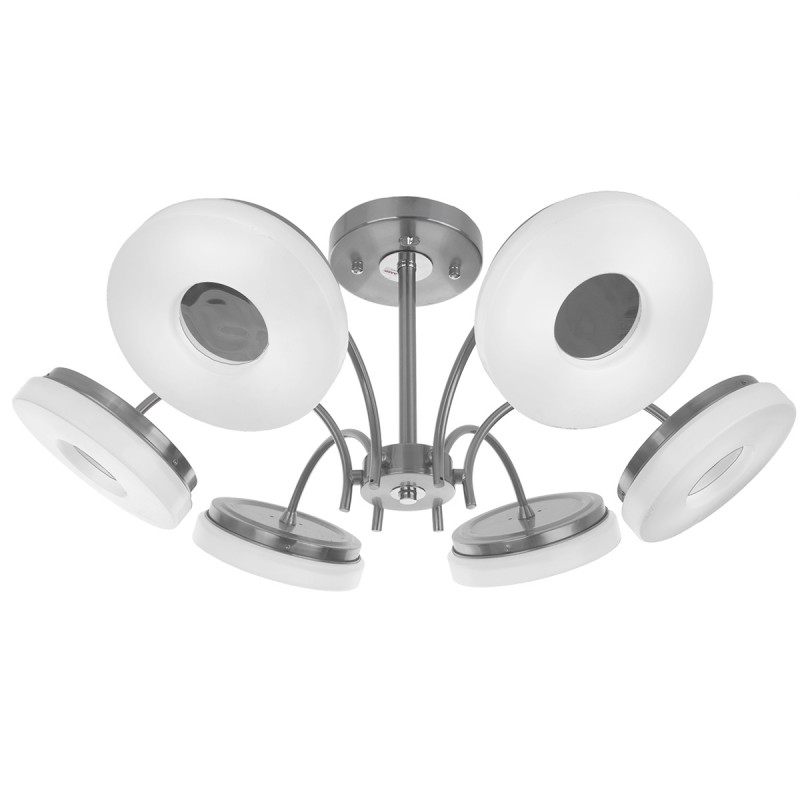 IDLamp Светильник потолочный Frittelle 107/6PF-LEDWhitechrome торшер idlamp frittelle 107 1p ledwhitechrome