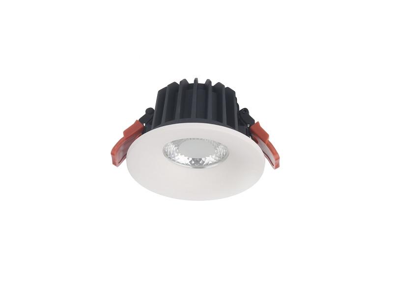Donolux Donolux Cветильник светодиодный, встраиваемый, 9Вт,200мА, 3000К, 675Лм, Ra>80, IP20, 30°, AC 220-240 видеокамера ip activecam ac d2121wdir3 1 9 мм белый
