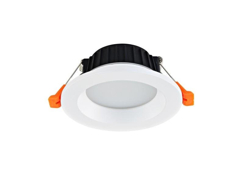 Donolux Donolux Cветильник светодиодный, встраиваемый, 9Вт,3000/4000/6000К, 720Лм, Ra>80, IP44, 120°, AC 85- видеокамера ip activecam ac d2121wdir3 1 9 мм белый