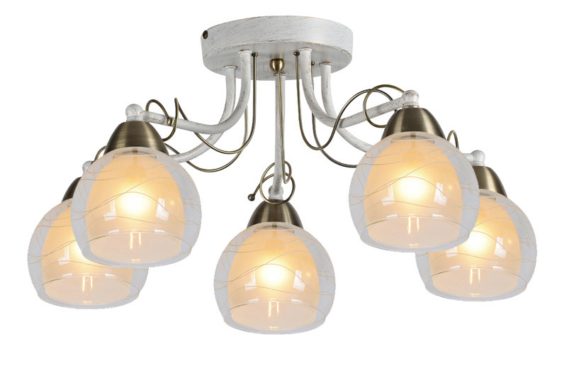 ARTE Lamp A1633PL-5WG потолочная люстра arte lamp intreccio a1633pl 5wg