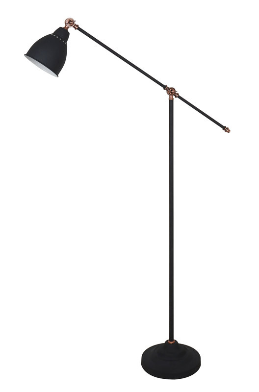 ARTE Lamp A2054PN-1BK торшер 43 a2054pn 1ss arte lamp 1176958