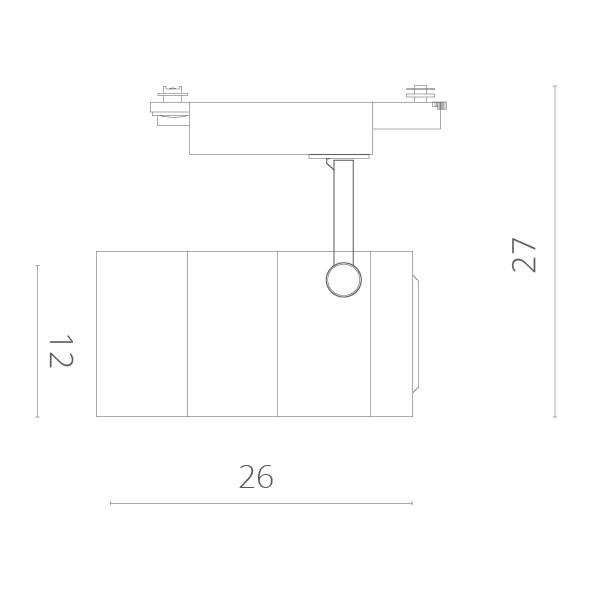 ARTE Lamp A2718PL-1BK