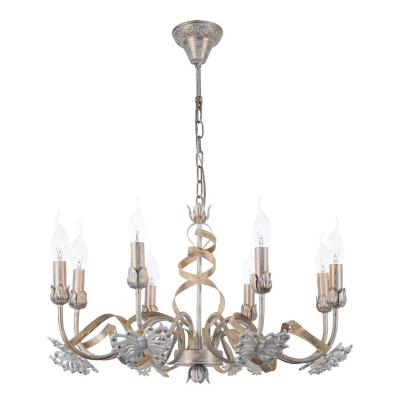 ARTE Lamp A8626LM-8WG подвесная люстра arte lamp libellula a8626lm 8wg