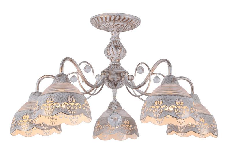 ARTE Lamp A9106PL-5WG люстра на штанге arte lamp sicilia a9106pl 8wg