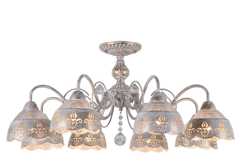ARTE Lamp A9106PL-8WG люстра на штанге arte lamp sicilia a9106pl 8wg