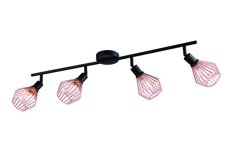 Фото ARTE Lamp A9163PL-4BK. Купить с доставкой