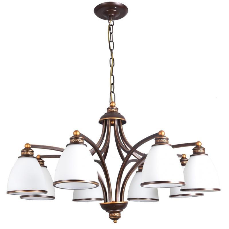ARTE Lamp A9518LM-8BA люстра на штанге arte lamp liverpool a3004pl 8ba