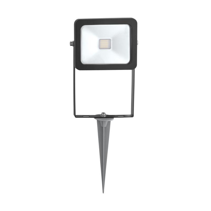 Фото EGLO Ландшафтный светодиодный спот FAEDO 2 на колышке с кабелем и штекером, 10W (LED),  H405, алюм., черн. Купить с доставкой
