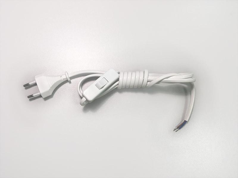 Ozcan A2300, 01 Шнур с переключ белый (2м) ozcan лампа timon 60 белая