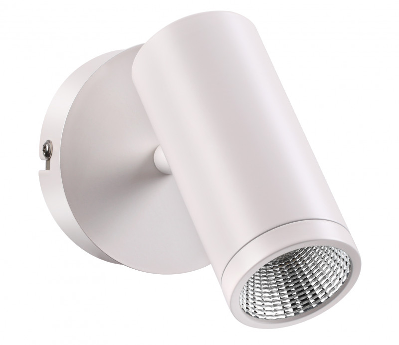 Фото Novotech 357461 NT18 000 матовый белый Накладной светильник IP20 COB 7W 100-240V TUBO. Купить с доставкой