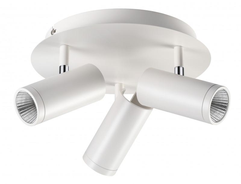 Novotech 357465 NT18 000 матовый белый Накладной светильник IP20 COB 3*7W 100-240V TUBO