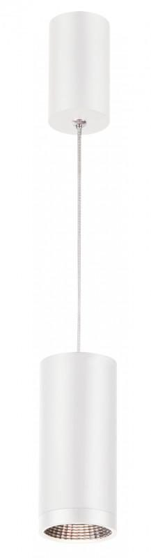 Фото Novotech 357468 NT18 000 матовый белый Накладной светильник IP20 COB 7W 100-240V TUBO. Купить с доставкой